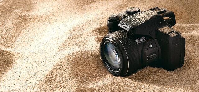 proteger cámara de fotos en la playa